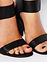 Женский Украшения для тела Кольца для пальцев ног Сплав Уникальный дизайн Мода Простой стиль Бижутерия Серебряный Золотой Бижутерия