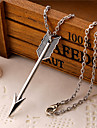Men's Pendant Necklaces Alloy Heart Wings / Feather Silver Jewelry Daily Casual 1pc