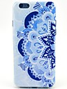 Blue And White Porcelain Pattern TPU Soft Case for iPhone 5C