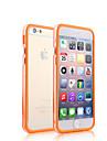 iPhone 4/4S/iPhone 4 - Бампер - Разные цвета (Красный/Черный/Белый/Зеленый/Синий/Розовый/Желтый/Фиолетовый/Фуксия/Оранжевый ,