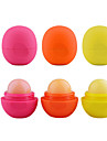 3GS 3Pcs Round Ball Moisturizing lip balm Sphere lip Pomade lip balm Lipstick Embellish