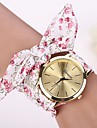 2015 Women Dress Watch Wristwatch Girl Bow Cloth Strap Cool Watches Unique Watches