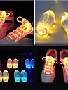 Светодиодные шнурки - синий/красный/зеленый/желтый/Мультиколор - Батарея W V)