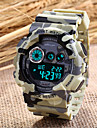 Mode Unisexe caoutchouc sangle camouflage numérique montres sportives militaires (couleurs assorties)