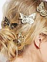 estilo europeu de moda jóias adorável cocar noiva delicada borboleta hairpin (single)