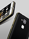 la double couleur cadre métallique d'arc pc nouvelle de luxe recourbée couvercle Huawei mate7 (couleurs assorties)