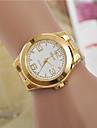 Жен. Нарядные часы Модные часы Наручные часы Кварцевый / сплав Группа Повседневная Золотистый