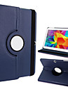 "360-Degree Rotating Faux Leather & TPU Rubber Stand Protective Case for Samsung Galaxy Tab 4 T530 4.0"" Tablet PC"