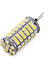1 pcs g4 8.5w 120smd 3528 850-900lm 2800-3500 / 6000-6500k ampoules de maïs blanc chaud / froid dc 12v