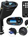 беспроводной автомобильный комплект mp3-плеер передатчик FM Bluelight дисплей Слот для карт SD MMC Пульт дистанционного управления стерео