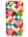 색상 상자 패턴은 아이폰 5 / 5S에 대한 소프트 케이스 TPU