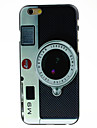Camera Style Pattern Hard Case for iPhone 6