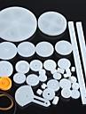 34 видов пластиковых мотор-редуктор передач роботов частей DIY Kit Модель