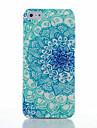 For iPhone 5 Case Frosted / Pattern Case Back Cover Case Mandala Hard PC iPhone 7 Plus / iPhone 7 / iPhone SE/5s/5