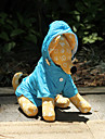 Dog Rain Coat Orange / Blue / Rose Dog Clothes Spring/Fall Solid Waterproof
