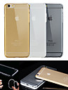 BIG D High Quality TPU Clear Soft Back Case for iPhone 6S/6 Plus(Assorted Color)