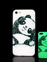 Panda Pattern Glow in the Dark Hard Case for iPhone 5 / iPhone 5 S