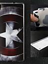 Графический/Другое - Крышка случая - TPU - Задняя крышка - для Huawei P7 -
