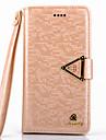 cas de 5c diamant de luxe en cuir PU cas de tout le corps avec béquille et fente pour carte pour l'iphone 5c (couleurs assorties)