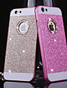 BIG D Metal Bling Pattern Back Cover for iPhone 6 Plus