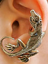 Clip Earrings Alloy Punk Silver Bronze Jewelry Party Daily Casual 1pc