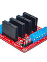 quatre pour Arduino relais d'état solide (rouge)