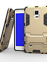 Para Samsung Galaxy Note Case Tampa Antichoque Com Suporte Capa Traseira Capinha Armadura Rígida PC para Samsung Note 4