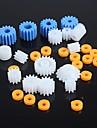 tipos de engrenagens de plástico engrenagem do motor do robô peças do kit modelo diy