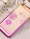 Diamond Bling Transparent Back Cover Case for iPhone 5/5S