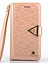 아이폰 6 (모듬 색상)에 대한 받침대 및 카드 슬롯 아이폰 6의 경우 고급스러운 다이아몬드 PU 가죽 전신 경우