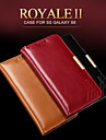 KALAIDENG Royale II Series Imported South Africa Cow Leather Protection Case for Galaxy S6