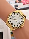 relógios dos homens europa e os estados unidos vendem falso calendário de quartzo suíço mão assistir com liga de ouro