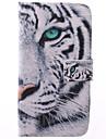 Para Samsung Galaxy Capinhas Porta-Cartão / Com Suporte / Flip / Estampada Capinha Corpo Inteiro Capinha Animal Couro PU Samsung Grand 2
