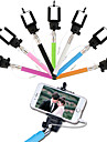 Wired Selfie Stick Self-Timer Adjustable Stand for IOS and Android (Assorted Colors)