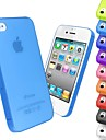 Ultra Thin Frosted Cover Case for iPhone 4/4S (Assorted Colors)