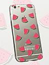 кубиками шаблон арбуз ТПУ материал телефон случае для iPhone 6 / 6с