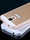 Pour Samsung Galaxy Coque Antichoc Coque Coque Arrière Coque Couleur Pleine Polycarbonate pour Samsung S5