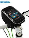 ROSWHEEL® Велосумка/бардачок 1.5LСотовый телефон сумка / Бардачок на руль Многофункциональный / Сенсорный экран Велосумка/бардачок ПВХ