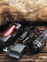 Светодиодные фонари / Ручные фонарики LED 5 Режим 1800/2000/2200 Люмен 18650 Cree XM-L T6 Батарея -Походы/туризм/спелеология /