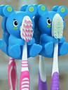 многофункциональные держатели форма патрон животных зубная щетка (случайный цвет)