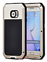 for Samsung Galaxy S6 Case Aluminum Waterproof Shockproof Back cover Gorilla Glass Case S5 S4 S3