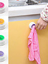 σακί ν τραβήξτε αυτοκόλλητη εύκολη εγκατάσταση κάτοχος πετσέτα (τυχαία χρώμα)