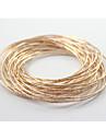 love2sis текстуры тиснением золото или серебряный браслет * 1set