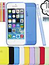 тренажерный зал ультра тонкий полупрозрачный матовый чехол для iPhone 4 / 4s (ассорти цветов)