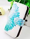 Для Кейс для  Samsung Galaxy Чехлы панели Кошелек Бумажник для карт со стендом Флип Чехол Кейс для Цветы Искусственная кожа для Samsung S2