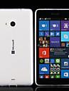 용 노키아 케이스 울트라 씬 / 투명 케이스 뒷면 커버 케이스 단색 소프트 TPU Nokia Nokia Lumia 830 / 노키아 루미아 535