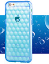 Pour Coque iPhone 6 / Coques iPhone 6 Plus Antichoc / Transparente Coque Coque Arrière Coque Couleur Pleine Flexible TPUiPhone 6s Plus/6