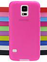 padrão de design sólido cor de geléia capa de silicone para i9600 Samsung Galaxy S5