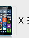 (3 peças) protetor de tela de alta definição para Lumia 640 microsoft