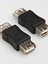 USB 2.0 тип женщины к женщине шнур кабеля переходник адаптер разъема преобразователь чейнджер расширителя соединителя